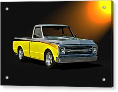 1969 Chevrolet C10 Pick Up Acrylic Print by Dave Koontz