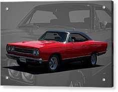 1969 Plymouth Gtx 440 Magnum Acrylic Print by Tim McCullough