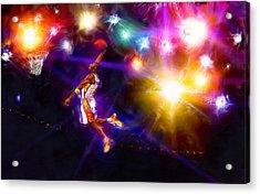 A Star Is Born Acrylic Print by Alan Greene