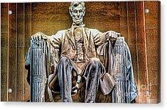 Abraham Lincoln Acrylic Print by Marvin Blaine