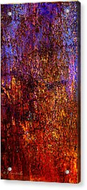 Abstract Acrylic Print by J Larry Walker