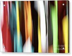Abstract Acrylic Print by Tony Cordoza
