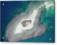 Adele Island Acrylic Print by Nasa