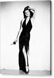 Affair In Trinidad, Rita Hayworth, 1952 Acrylic Print by Everett