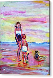 Afternoon Tide Acrylic Print by Patricia Taylor