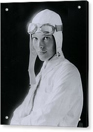 Amelia Earhart Acrylic Print by Retro Images Archive
