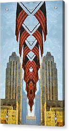 American Architecture Acrylic Print by Dan Sproul