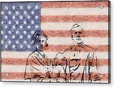 American Patriots Acrylic Print by Dan Sproul