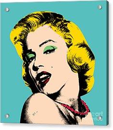 Andy Warhol Acrylic Print by Mark Ashkenazi