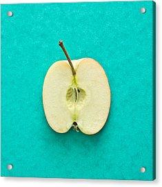 Apple Acrylic Print by Tom Gowanlock
