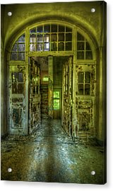 Arch Door Acrylic Print by Nathan Wright