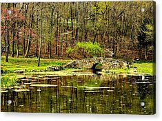 Arkansas Tranquility Acrylic Print by Benjamin Yeager