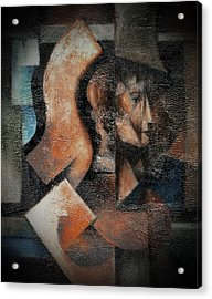 Artemis Daughter Of Zeus Acrylic Print by Val Byrne