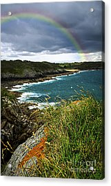 Atlantic Coast In Brittany Acrylic Print by Elena Elisseeva