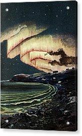 Aurora Borealis Acrylic Print by Babak Tafreshi