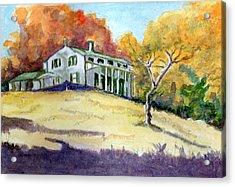 Autumn Acrylic Print by Harriet Davidsohn