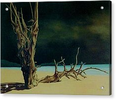 Avant L Orage Acrylic Print by Guillaume Bruno