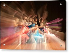 Ballet Acrylic Print by Okan YILMAZ