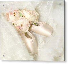 Ballet Shoes Acrylic Print by Theresa Tahara