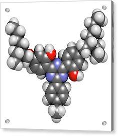 Bemotrizinol Sunscreen Molecule Acrylic Print by Molekuul