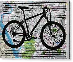 Bike 10 Acrylic Print by William Cauthern