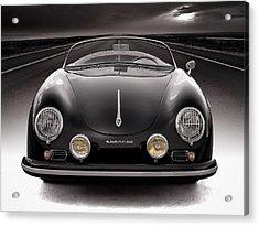 Black Speedster Acrylic Print by Douglas Pittman