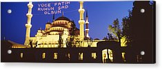 Blue Mosque, Istanbul, Turkey Acrylic Print by Panoramic Images