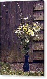 Bouquet Acrylic Print by Svetlana Sewell