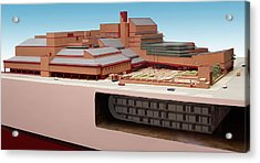 British Library St. Pancras Model Acrylic Print by British Library