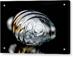 Bulb In Close-up Acrylic Print by Toppart Sweden