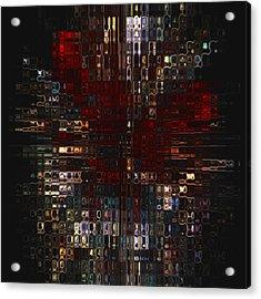 Burst  Acrylic Print by Jack Zulli