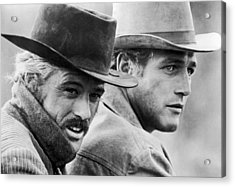 Butch Cassidy And The Sundance Kid Acrylic Print by Nomad Art