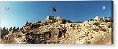 Byzantine Castle Of Kalekoy Acrylic Print by Panoramic Images