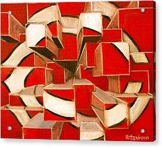 C-squared Acrylic Print by Josh Hertzenberg