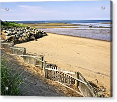 Cape Cod Bay Morning Acrylic Print by Frank Winters