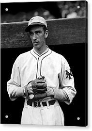 Carl O. Hubbell Acrylic Print by Retro Images Archive