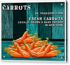 Carrot Farm Acrylic Print by Marvin Blaine
