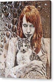 Cats Acrylic Print by Joachim G Pinkawa