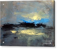 Centre  Acrylic Print by Trilby Cole