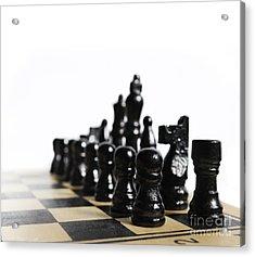 Chess Acrylic Print by Jelena Jovanovic