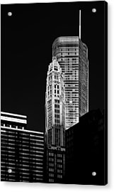Chicago - Trump International Hotel And Tower Acrylic Print by Christine Till