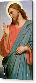 Christ Weeping Over Jerusalem Acrylic Print by Ary Scheffer