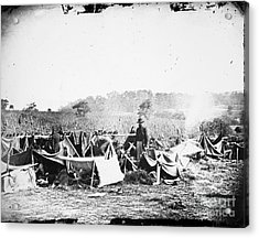 Civil War: Wounded, 1862 Acrylic Print by Granger