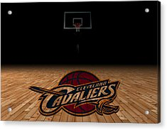 Cleveland Cavaliers Acrylic Print by Joe Hamilton