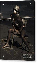 Creative Beach Fashion Acrylic Print by Jorgo Photography - Wall Art Gallery