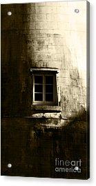 Creepy Windmill Window Acrylic Print by Jorgo Photography - Wall Art Gallery