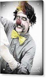 Dark Puppeteer Acrylic Print by Jorgo Photography - Wall Art Gallery