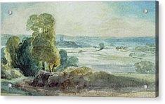 Dedham Vale Acrylic Print by John Constable