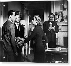 Dial M For Murder  Acrylic Print by Silver Screen