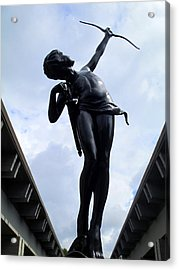 Diana Acrylic Print by Randall Weidner